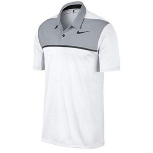 Nike XL Tiger Woods TW Color Blocked Polo
